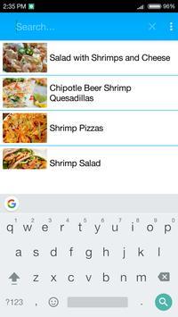 Shrimp Recipes apk screenshot