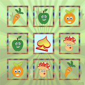 Puzzle Matching Vegetables icon