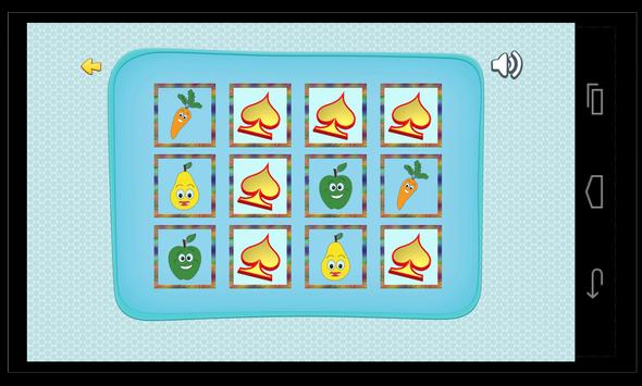 Puzzle Matching Vegetables screenshot 1