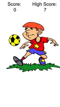 Juggle the Soccer Ball poster