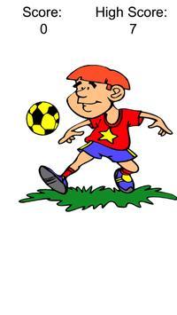 Juggle the Soccer Ball apk screenshot