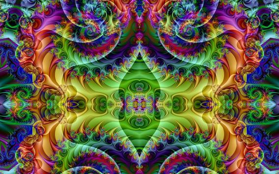 Abstract Psychedelic Art Parallax Hd Iphone: Psychedelic Wallpapers 4k For Android