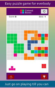 Colored Boxes Obsession apk screenshot