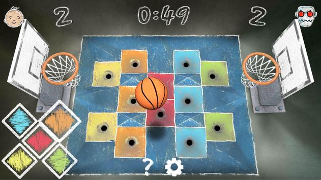 Tabletop Basketball apk screenshot