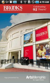Memphis Brooks Museum of Art poster