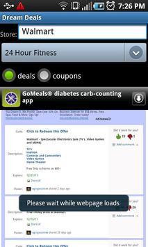 Dream Deals and Coupons apk screenshot