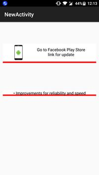 Update Check for Facebook screenshot 1
