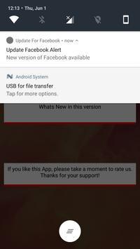 Update Check for Facebook screenshot 2