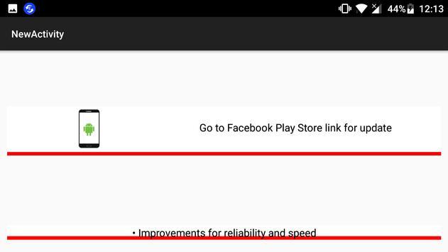 Update Check for Facebook screenshot 3