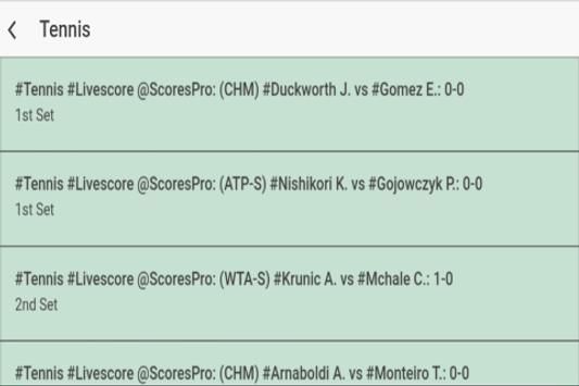 Sports Live Scores screenshot 4