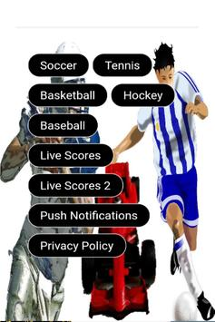 Sports Live Scores poster