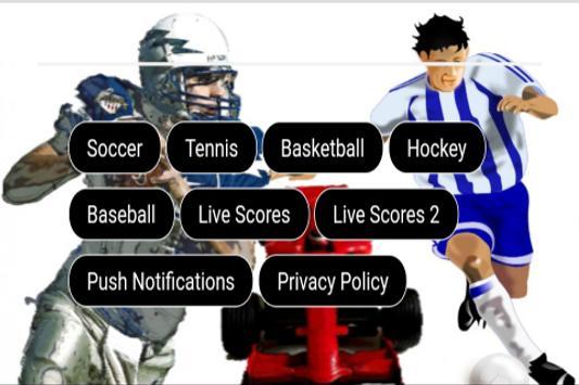 Sports Live Scores screenshot 3