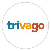 trivago -  ابحث عن غرفة فندق وادخر المال على سفرك أيقونة