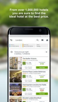 trivago -  ابحث عن غرفة فندق وادخر المال على سفرك apk تصوير الشاشة