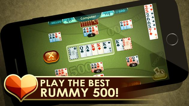 Rummy 500 poster