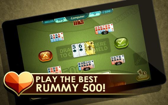 Rummy 500 screenshot 5