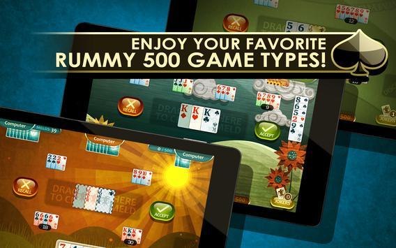 Rummy 500 screenshot 6