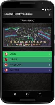 Sanctus Real Lyrics Music screenshot 1