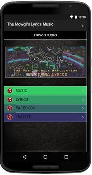 The Mowgli's Lyrics Music apk screenshot