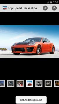 Top Speed Car Wallpapers HD poster