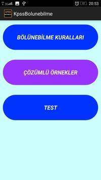 KPSS Matematik Bölünebilme screenshot 1