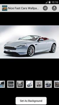 Nice Fast Cars Wallpapers apk screenshot