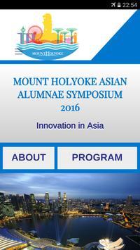 MH Alumnae Symposium poster