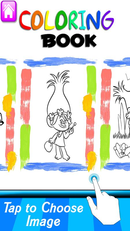 troll coloring book apk download free education app for android