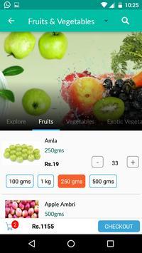 EZTrollley Online Grocery shop apk screenshot