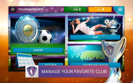 Women's Soccer Manager (WSM) - Football Management screenshot 7