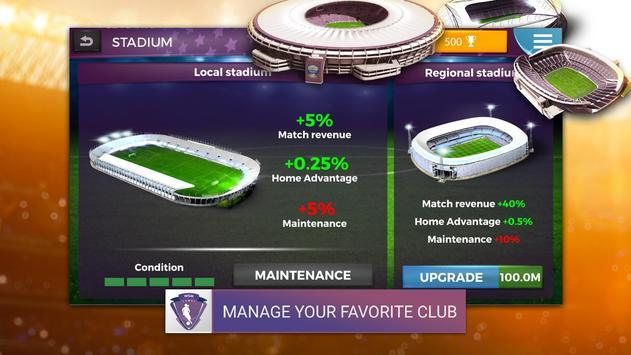 Women's Soccer Manager (WSM) - Football Management screenshot 1