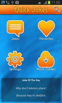 Quick Jokes apk screenshot