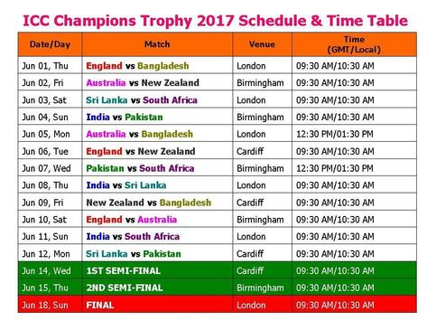 Champions Trophy 2017 Live apk screenshot
