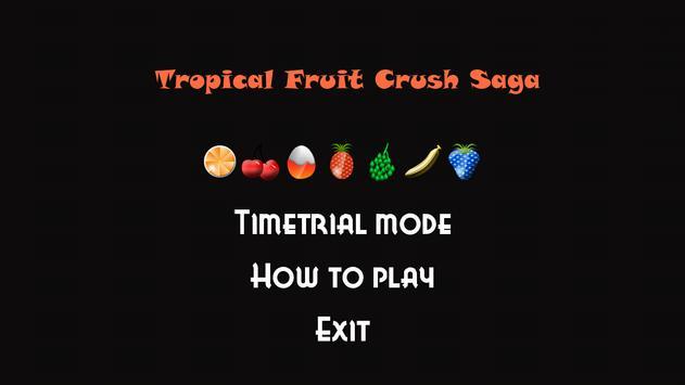 Tropical Fruit Blitz poster