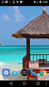 tropical paradise wallpaper apk screenshot