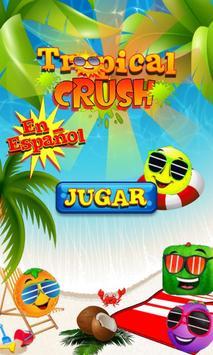 Tropical Crush - Spanish poster