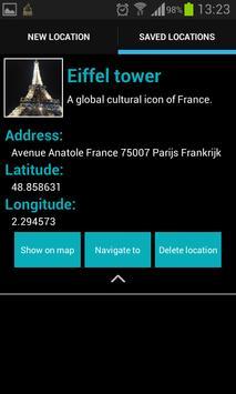 Locaver - Location Saver apk screenshot