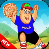 boy pizza fanny icon