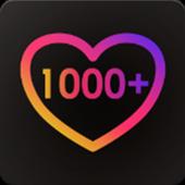 1000 likes icon