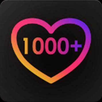 1000 likes screenshot 1