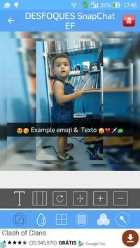 Editor Fotos Montagens Colagem apk screenshot