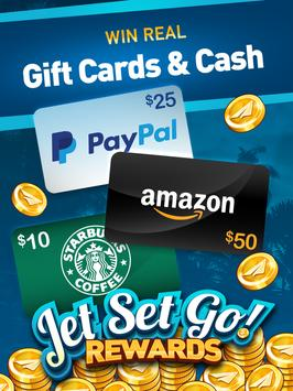 5 Schermata Jet Set Go: Earn Cash Rewards