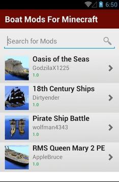 Boat Mods For Minecraft screenshot 13