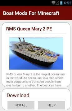 Boat Mods For Minecraft screenshot 5