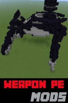 Weapon PE Mods For MC poster