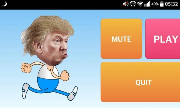 Trump Running Man apk screenshot