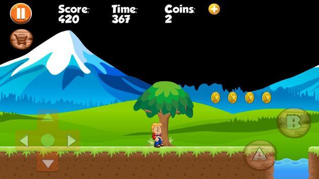 Trump Jungle Adventures apk screenshot