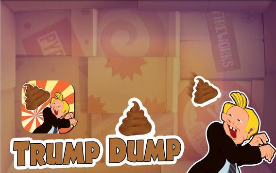 Trump Dump on Trump game apk screenshot