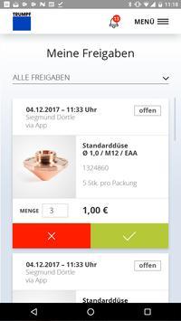 TRUMPF Easy Order App poster