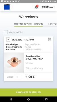 TRUMPF Easy Order App screenshot 4